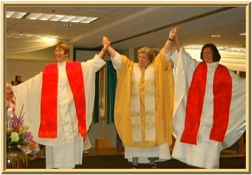 unbiblical women clergy priests pastors elders rejoicing