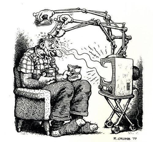 american tv television brainwashing campaign