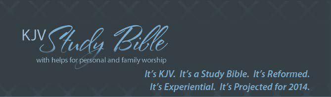 Reformed King James Version KJV Study Bible by Joel Beeke