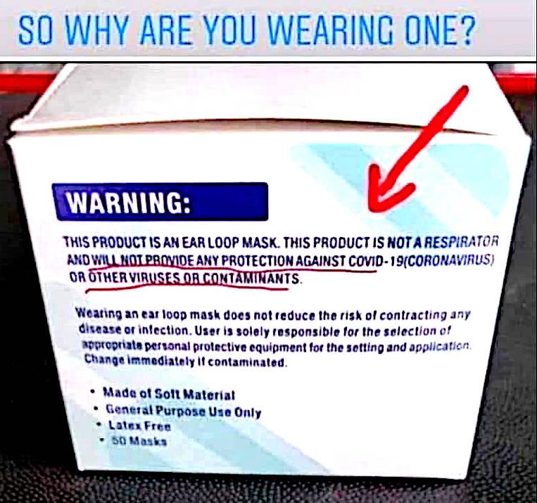 covid-19 corona virus pandemic flu face-masks facemasks effectiveness ineffective